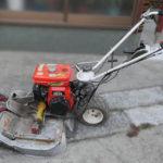 クボタ歩行型草刈り機の修理~エンジンスイッチと始動紐の交換