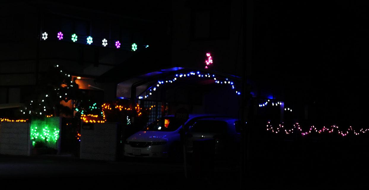 クリスマスイルミ2015