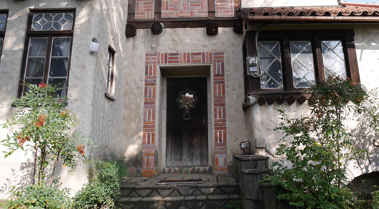 旧佐藤邸正面
