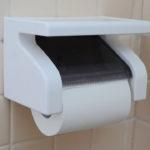 トイレットペーパーホルダーの交換