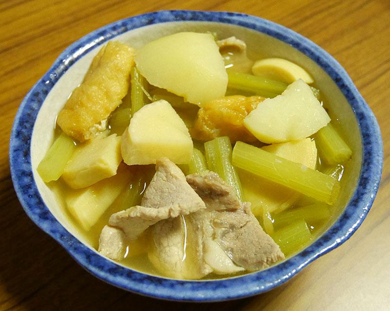 筍とふきの煮物