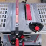 テーブルソーETS-10KN(2)鋸刃の平行度調整と試用