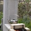 ロケットストーブの製作実験