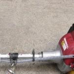刈り払い機の修理 (1)スロットル(アクセル)ワイヤー