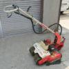 ヤンマー歩行型草刈り機くるるんの修理~燃料タンク保持防振ゴムと点火プラグの交換