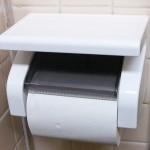トイレットペーパーホルダーの修理