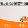 自動車保険の見直し (2)大人の自動車保険へ変更