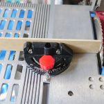 テーブルソーETS-10KN(3)傾斜定規の補助当て板を製作