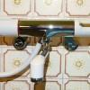 キッチンの混合水栓と風呂のサーモ水栓をDIYで取替え