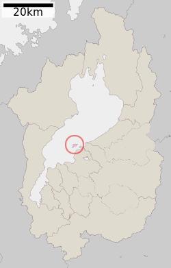 沖島の位置