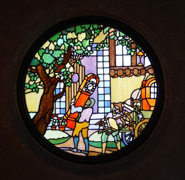 応接室のステンドグラス