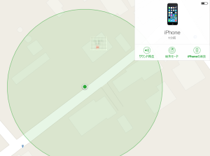 iPhoneを探す_地図(大)