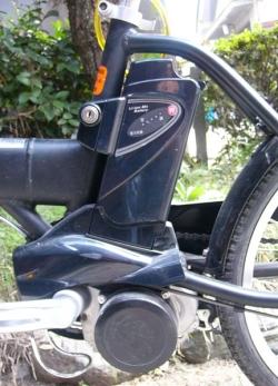 電動自転車とバッテリー
