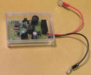 バッテリー回復器kit組み立て後