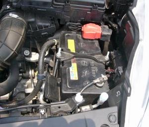 車載のバッテリー元の状態