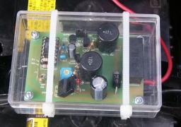 取り付けたバッテリー復活・延命器