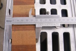50mm幅に切ったサンプル