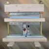 プレス曲げ式ベンダー(金属板折り曲げ機)の自作