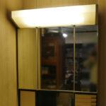 洗面化粧台の照明を改造